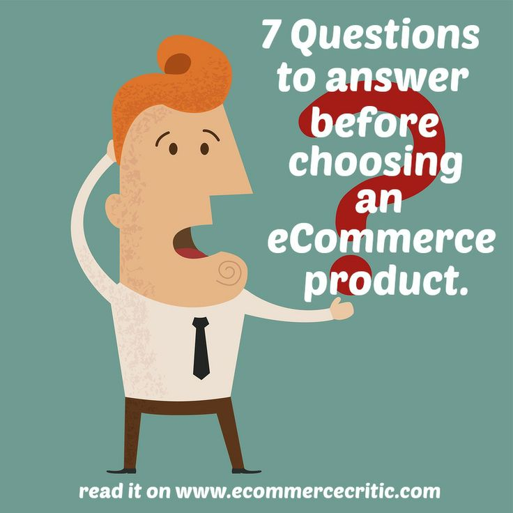 Before you start selling online, ask yourself these 7 questions to make sure you are prepared.  #ecommerce
