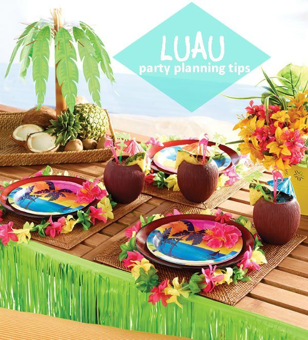 Hawaiian Christmas Party Ideas Part - 23: Luau Party Planning Tips -- Lots Of Fun Ideas! Hawaiian ...