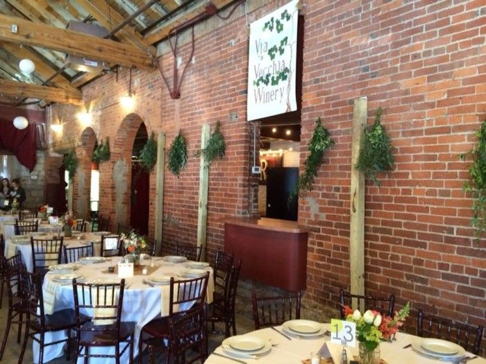 90 best local venues images on pinterest wedding reception venues tracie and rons colorful via vecchia wedding columbus ohio wedding florist junglespirit Image collections