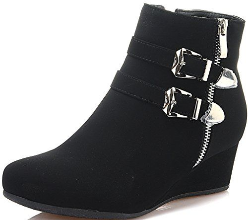 Dream Pairs New Women's GHILE Fashion Casual Double Buckl... https://www.amazon.com/dp/B01G91EPOA/ref=cm_sw_r_pi_dp_x_FZMoybKAE45V4