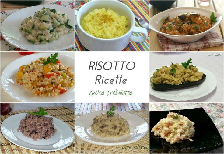 RISOTTO ricette. Il risotto, in genere, è una delle ricette più gettonate nel periodo invernale. Il risotto è un primo piatto tipico della cucina italiana..