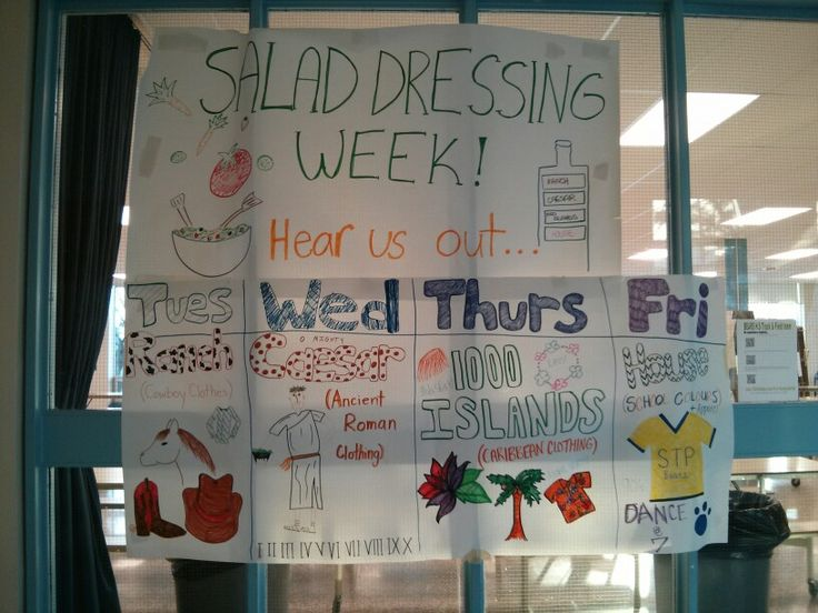Just one example of our many STP Spirit Weeks