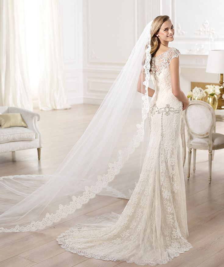 Spectacular Atelier Pronovias Wedding Dresses 2014 Collection. To see more: http://www.modwedding.com/2014/01/19/atelier-pronovias-wedding-dresses-2014-collection/ #wedding #weddings #fashion