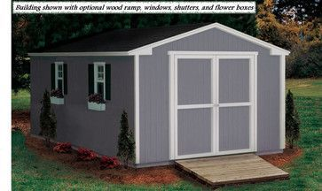 Storage Sheds - The affordable storage solution. This line of storage sheds comes in 8x8, 10x8 and 10x12 for your convenience. Customizable ...