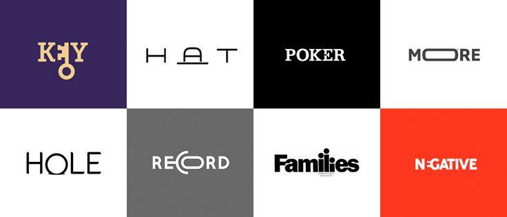 É possível criar um belo conceito e resolver tudo na tipografia. Este artigo reune 60 ideias sensacionais de logotipos minimalistas, extremamente simples.