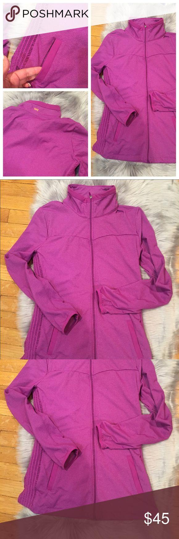 Lucy Tech Jacket Medium Women Fridge Purple Lucy Tech Jacket Medium Women Purple Detailed Full Zipper Sport Run Yoga Lucy Tops Sweatshirts & Hoodies