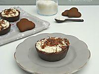 La crema pasticcera al cioccolato di Massari è strepitosa, ha un deciso sapore di cioccolato, è vellutata e avvolgente, speciale nelle crostate e nei bignè.