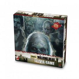 Get it for the hardcore fan. The Walking Dead™ trivia game is inspired by the hit series. Hours of fun for those in the know. Answer trivia questions related to the hit TV program The Walking Dead Includes playing board and questions For 2-4 players Ages 12 years and up English only