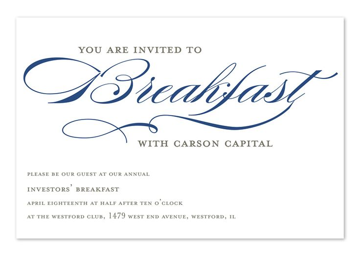 16 best Dinner invite images on Pinterest Corporate invitation - dinner invitation sample