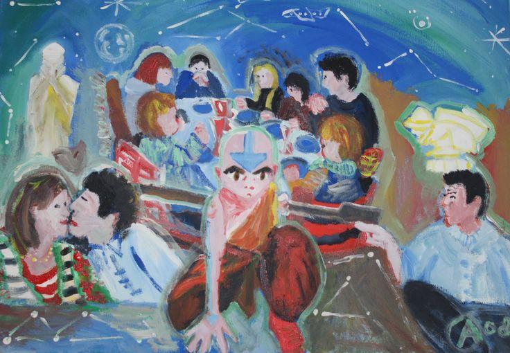 #avatar acryl op doek 2008