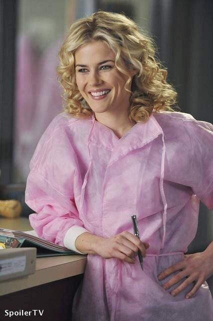 Lucy Fields (Rachael Taylor). Grey's Anatomy.