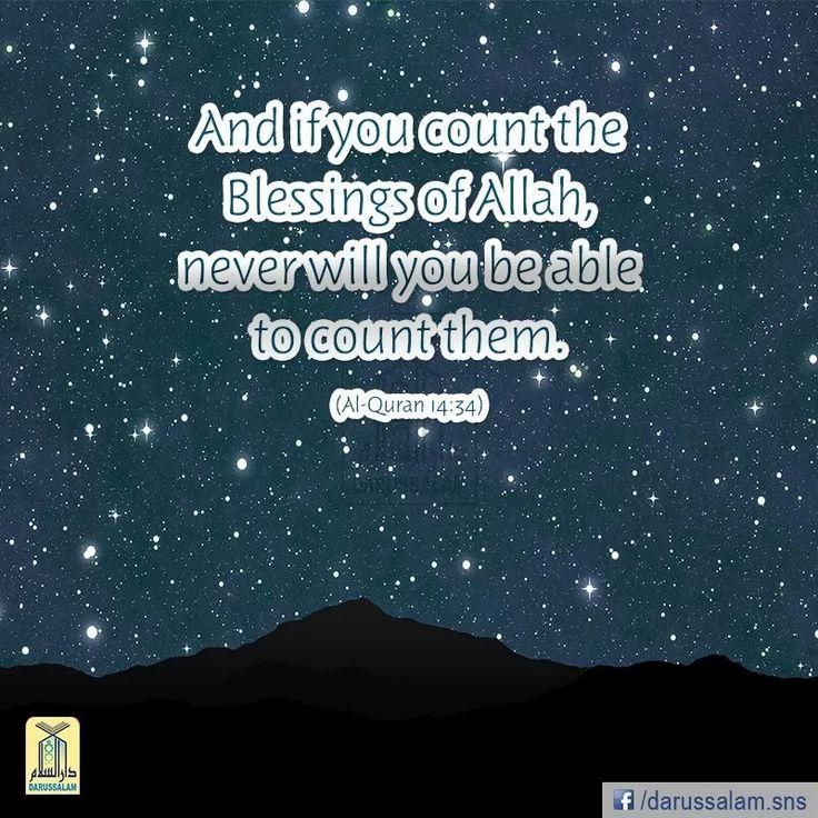 Surah Ibrahim Verse 34