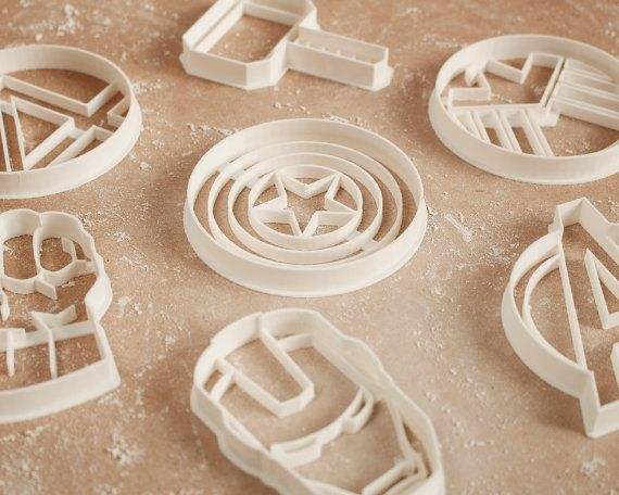 Thor Cookie Cutter Marvel Comics Avengers Geek di RochaixCo