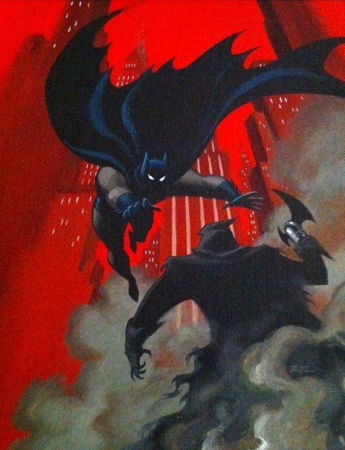 """Batman & Phantasm by Bruce Timm___!!! """