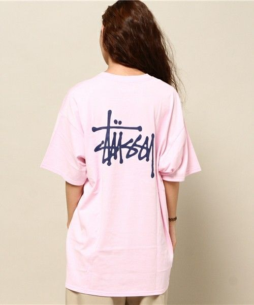 Stussy Women(ステューシーウィメン)のBig Basic Logo Tee(Tシャツ/カットソー)|詳細画像