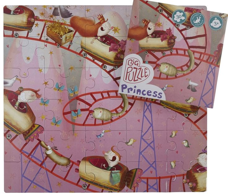 Princess Rollercoaster by Glottogon