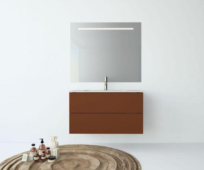 Muebles de baño, propuestas de composiciones para conseguir amplitud en el almacenaje: cajones, puertas correderas, abatibles, huecos vistos, etc. unibaño-compactos-almacenaje-14