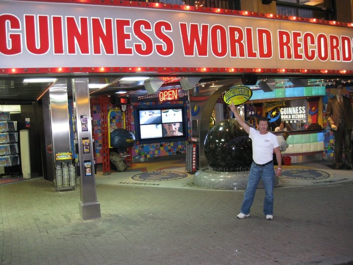 Yeah.... I have two of them on my wall! Guinness World Record Museum Niagara Falls Canada.  #guinnessworldrecords #ripleys #hotwheels #mattel