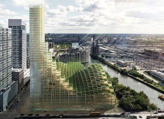 Propuesta de rascacielos de madera es una alternativa sostenible a los edificios de acero y hormigón   Plataforma Arquitectura