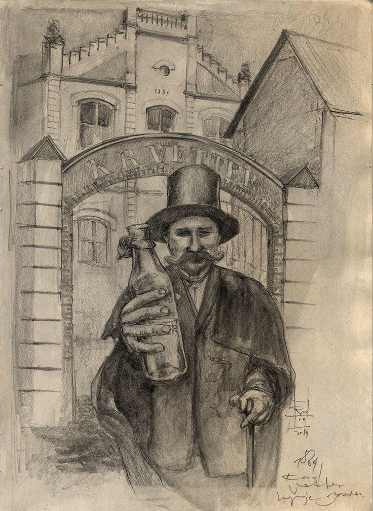 Karol Vetter był przedsiębiorczym przemysłowcem z Poznania. W 1844 roku za 3 tys. rubli nabył w Lublinie opustoszałe zabudowania klasztorne reformatów przy Bernardyńskiej 15 w i otworzył w nich kolejno: destylarnię, fabrykę słodkich wódek, a wreszcie browar.... >>> czytaj więcej http://teatrnn.pl/instrukcja/gospodarka-lublina-w-xix-wieku/  #dzien_piwa #beer_day #IBD #przemysł #piwowar #browar #Lublin