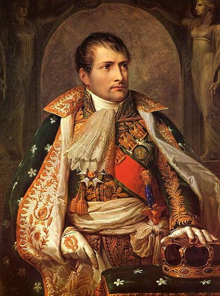 Napoleon, 1805 (Andrea Appiani) * Hungarian Sibyls in Paris, remembering mlle Lenormand, esoteric Tour * www.lenormand.hu