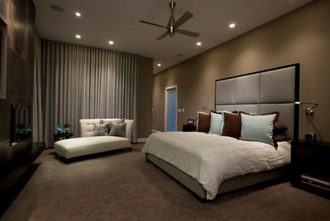 Contemporary master bedroom styles - Home Decor and Interior Design Ideas