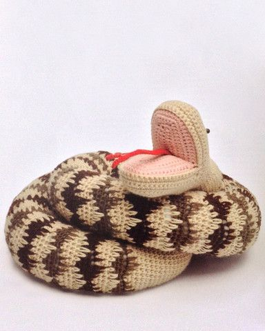 Anyone can like snakes when they are amigurumi!?