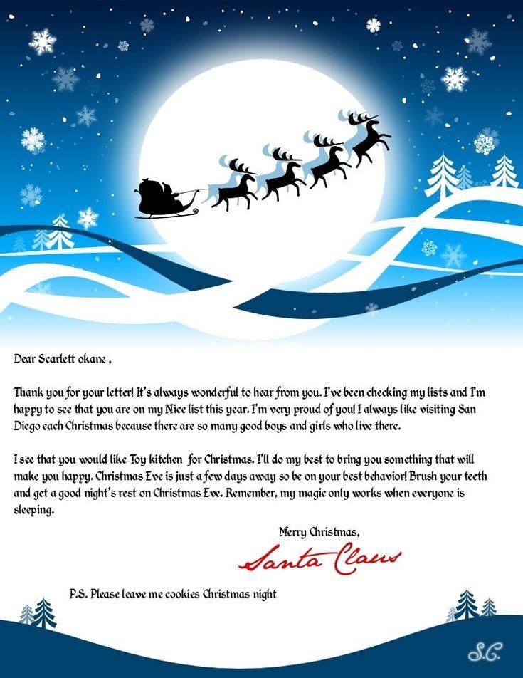 the 25 best email from santa ideas on pinterest santa letter