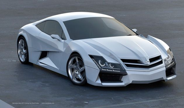 Mercedes-Benz SF1 Concept Car by Steel Drake (9)