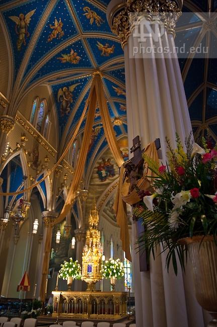 Easter, 2009..Photo by Matt Cashore/University of Notre Dame  Copyright University of Notre Dame