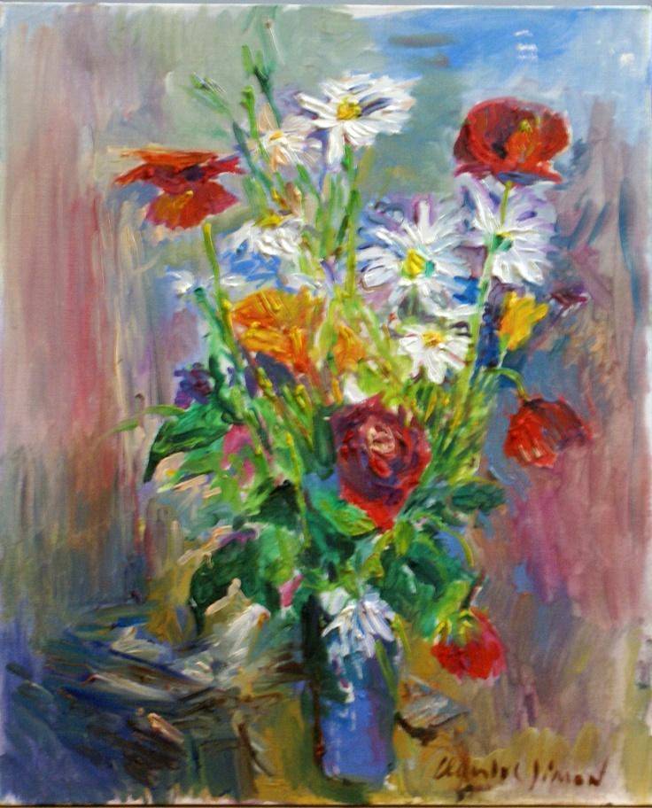 1000 images about nature morte et fleurs on pinterest for Bouquet de fleurs jaunes