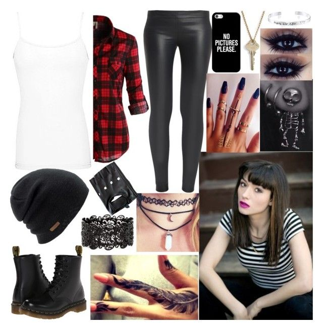 """""""Carmilla makes me question my asexuality"""" by avengersroleplay ❤ liked on Polyvore featuring LE3NO, BKE, The Row, Coal, Dr. Martens, Casetify, The Giving Keys and Disney"""