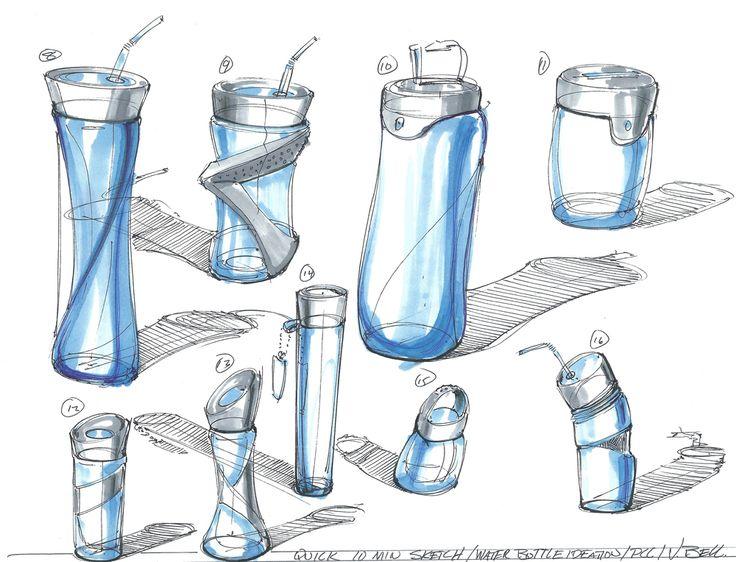 Quick water bottle doodle 2
