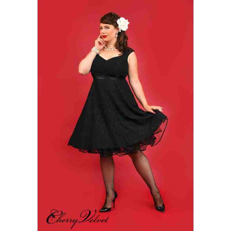PRE-ORDER - Leah Lace Dress (Black on Black) $244.00 http://www.curvyclothing.com.au/index.php?route=product/product&path=95_151&product_id=10245