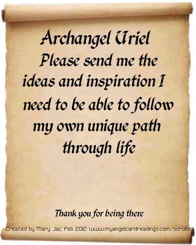 Archangel Prayers and Messages on Parchment Scrolls https://www.facebook.com/pages/Healthy-Vibrant-You/381747648567846