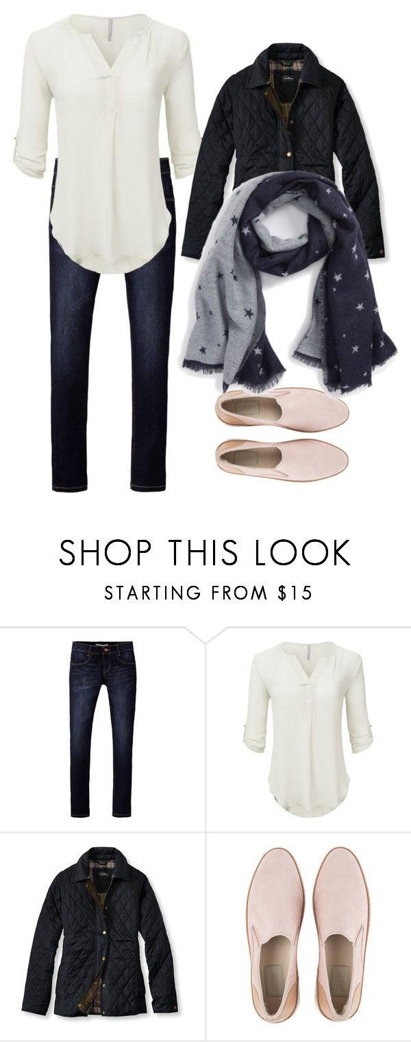"""""""Airport travel outfit"""" by patti-mb on Polyvore featuring Levi's, L.L.Bean, UGG, BP. and comfy"""