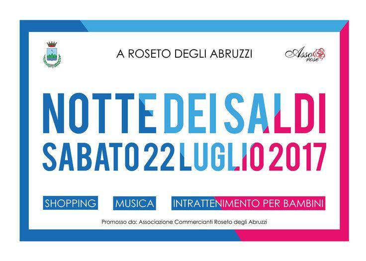 NOTTE DEI SALDI - Roseto degli Abruzzi | Eventi Teramo #eventiteramo #eventabruzzo