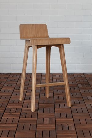 Marina Plywood Counter Stool in Ash (Colours)