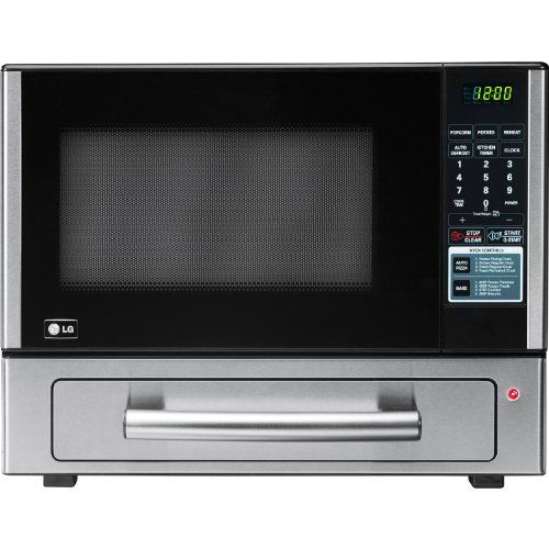 Lg Lcsp1110st 1 Cu Ft Counter Top Combo Microwave And Baking Oven Stainless Steel