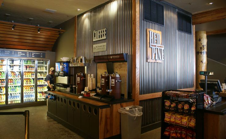 Corrugated Sheet Metal Feature Wall Retail Pinterest Restaurant Metal Walls And