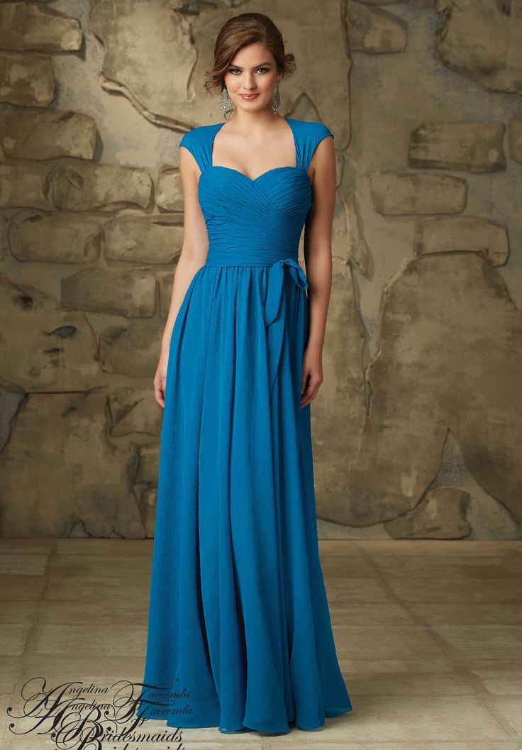 Bridesmaids Dress 20466 Luxe Chiffon Mori Lee