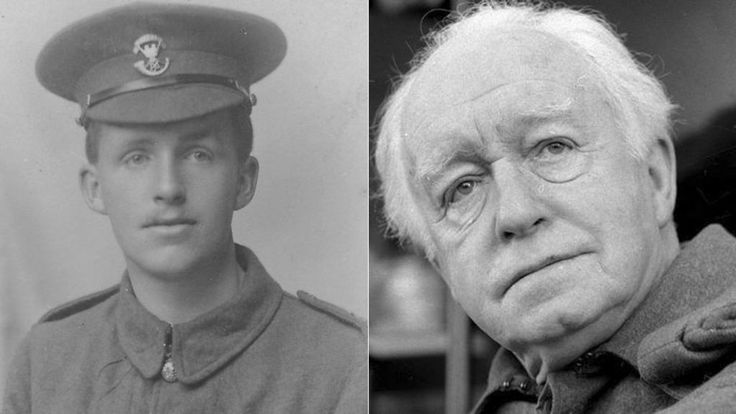 As a film version of Dad's Army is released, BBC News looks at the life of Arnold Ridley, the only actor in the original television series to serve in both World War One and Two.