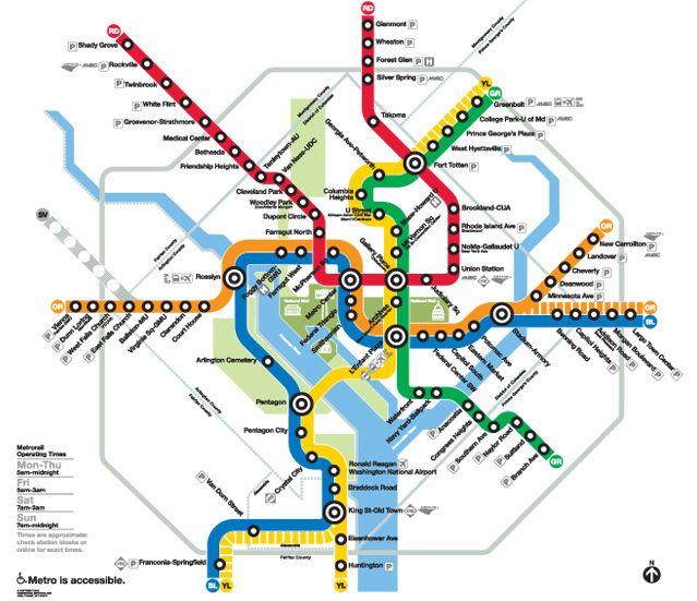 Washington Dc Metro Rail Map – hairstyle on