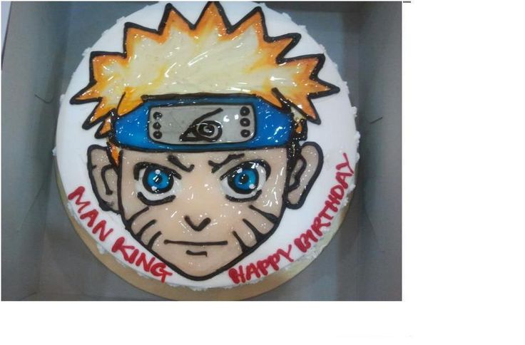 Naruto Cake Ideas | These are the cartoon cake vintage ideas and designs Pictures