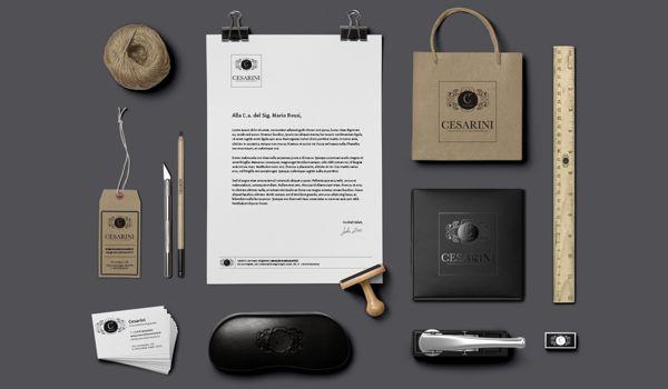 Cesarini  by Creativi Associati, via Behance More on http://bit.ly/1kWVo8D