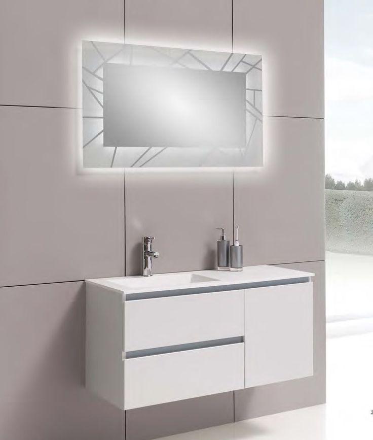 mueble ba o suspendido 120 cm suspendido muebles de ba o. Black Bedroom Furniture Sets. Home Design Ideas