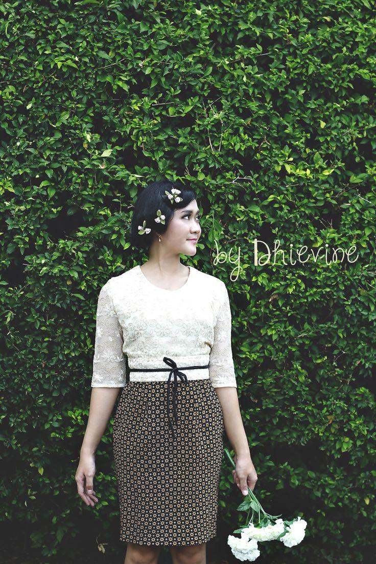 Batik Dress | tutu dress| Ikat Dress | Kebaya Dress| Dewi Citrawati TruntumDress | DhieVine | Redefine You