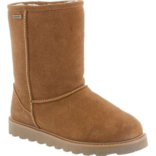 Bearpaw Women's Payton II Boot ($110) ❤ liked on Polyvore featuring shoes, boots, hickory ii, bearpaw, waterproof shoes, water proof shoes, bearpaw boots and bearpaw shoes