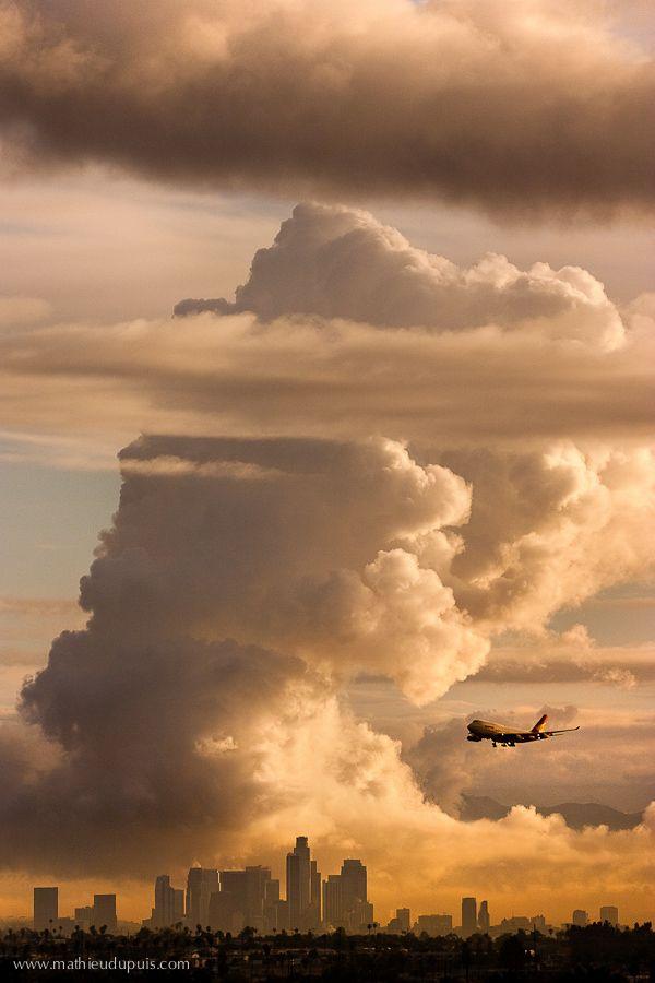 Los Angeles Cloud by Mathieu Dupuis