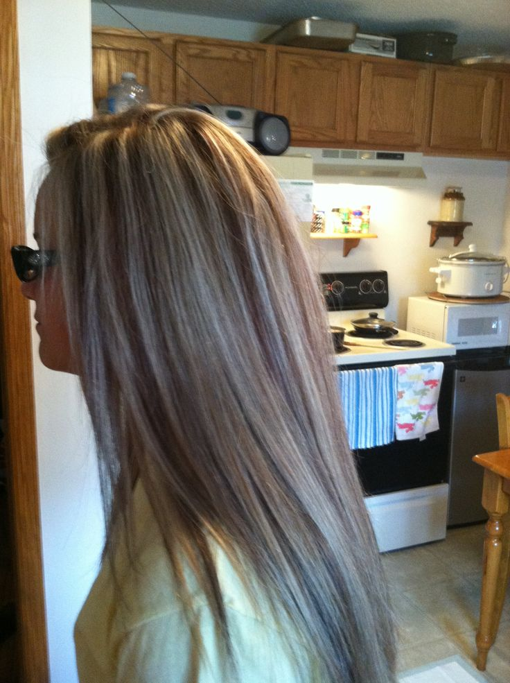 Highlights Brown Blonde Highlights And Highlights And